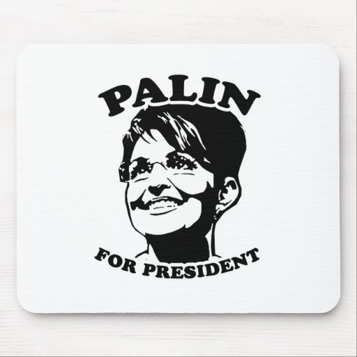 Palin for President Mouse Pads