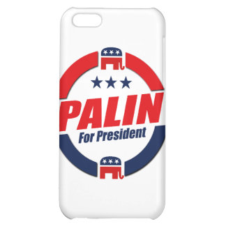 PALIN FOR PRESIDENT (Republican) iPhone 5C Cases