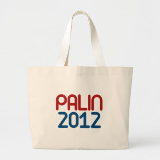 Palin for President Jumbo Tote Bag