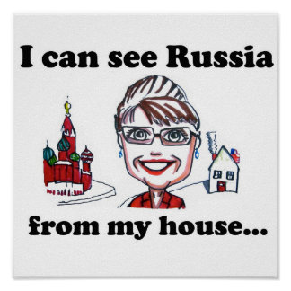 Palin Foreign Policy Poster