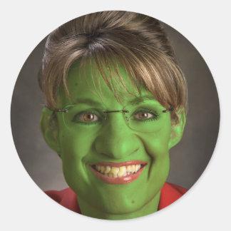 Palin Goblin Classic Round Sticker