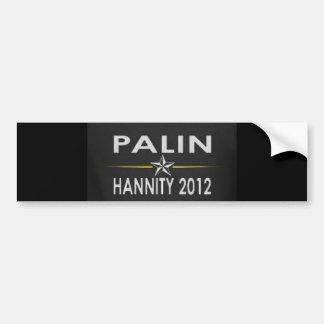 Palin/Hannity2012 Bumper Sticker