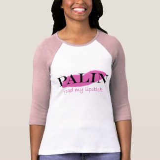 Palin Lipstick Tee Shirt