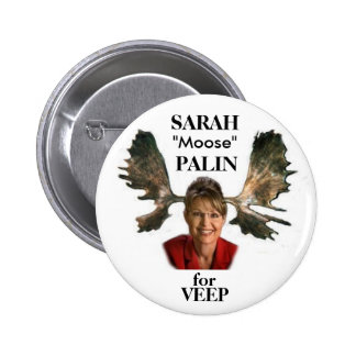Palin Moose Button