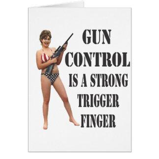 Palin on Gun Control 2012 Cards