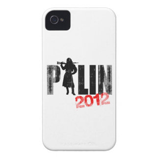 Palin Packing 2012 Faded.png iPhone 4 Case-Mate Case