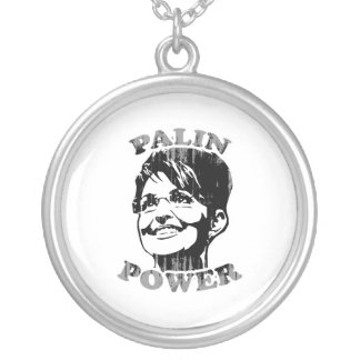 Palin Palin Power Faded.png Custom Necklace