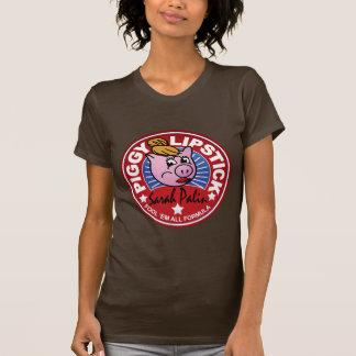 Palin Piggy Lipstick T-Shirt