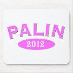 Palin Pink Arc 2012 Mouse Pad