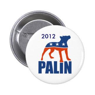 Palin Pitbull Button