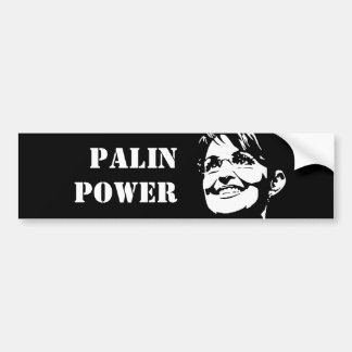 Palin Power Bumper Sticker