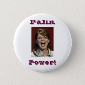 Palin Power! -button 6 Cm Round Badge