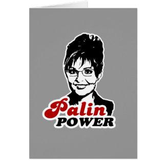 PALIN POWER GREETING CARDS