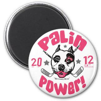 Palin Power Hockey Mom 2012 Refrigerator Magnets