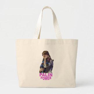 Palin Power Large Tote Bag