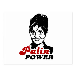 PALIN POWER POSTCARD