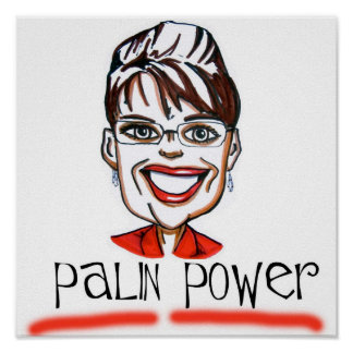 Palin Power  Poster