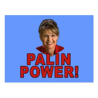 Palin Power! Sarah Palin T shirts and Apparel Postcard