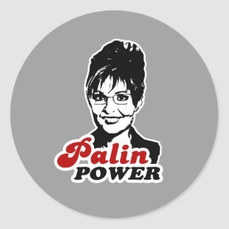 PALIN POWER STICKERS