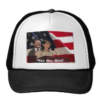 Palin-Reagan You Go Girl Mesh Hat