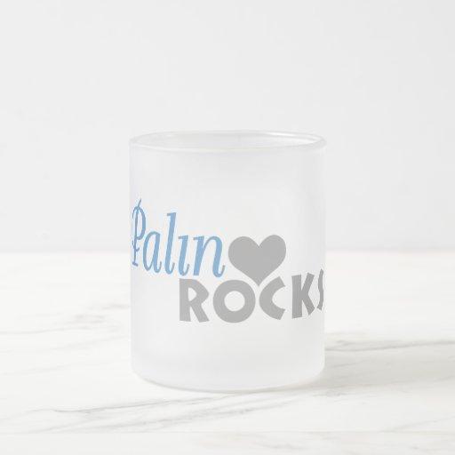 Palin Rocks My Heart Mug