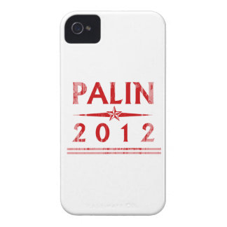 PALIN STAR red Faded.png Case-Mate iPhone 4 Case