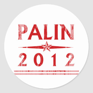 PALIN STAR red Faded.png Sticker