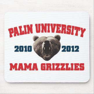 Palin University Mama Grizzlies Mouse Pads