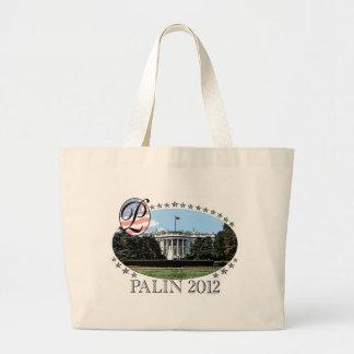 Palin White House 2012 Jumbo Tote Bag