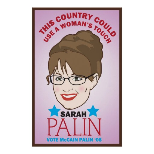 Palin, Woman's Touch Poster