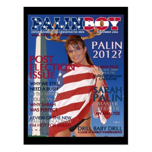 PALINBOY - Post Election Issue-Nov. 2008 Postcard