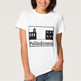 Palindrome Church and Prison Shirts
