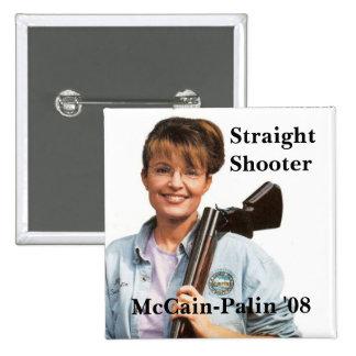 Palingun McCain-Palin 08 Shooter Straight Pins