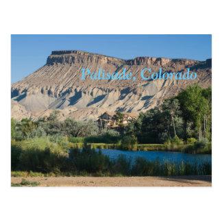 Palisade, Colorado Postcard