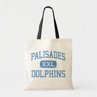 Palisades - Dolphins - Charter - Pacific Palisades Tote Bag
