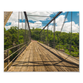 Palisades State Park Bridge Photograph