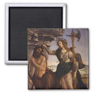 Pallas and the Centaur by Botticelli Magnets