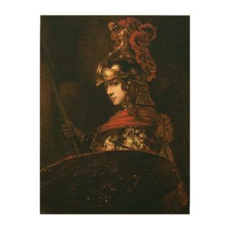 Pallas Athena or, Armoured Figure, 1664-65 2 Wood Prints
