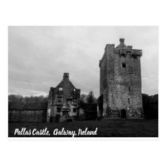 Pallas Castle, Galway, Ireland Postcard
