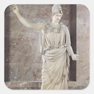 Pallas de Velletri, statue of helmeted Athena Stickers