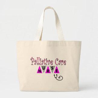 Palliative Care Nurse Gifts Large Tote Bag
