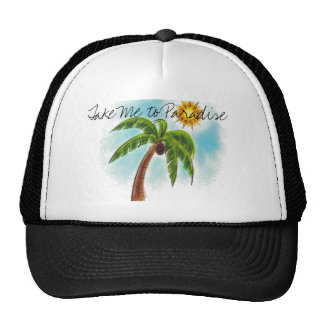 Palm%20Tree, Take Me to Paradise Hats