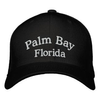 Palm Bay FL Embroidered Baseball Caps