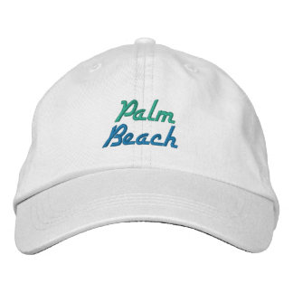 PALM BEACH cap Embroidered Hats