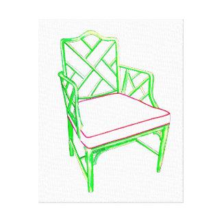 Palm Beach Chair Canvas