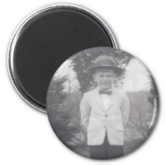 PALM BEACH DANDY magnet (round)
