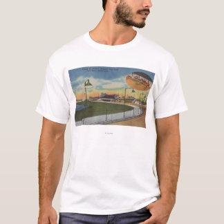 Palm Beach, FL - Kennel Club, Dog Racing Track T-Shirt