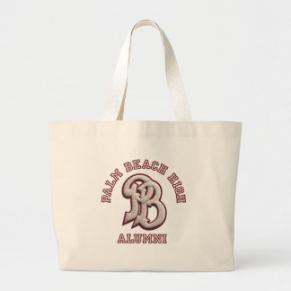 Palm Beach High Alumni Large Tote Bag