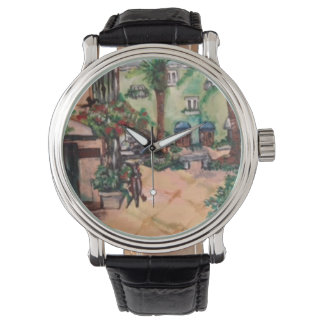 Palm Beach Street Painting watch
