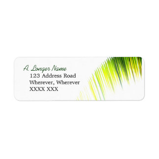 Palm Branch Address Label